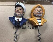 Nautical Ships Captian Corkscrews Lot Of 2