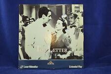 The Letter - Bette Davis, Herbert Marshall, James Stephenson - Laser Disc
