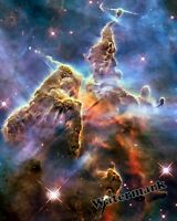 Photograph NASA Hubble Carina Nebula  Southern Constellation  Year 2010  8x10