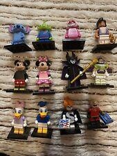 Lot de lego figurines disney serie 1