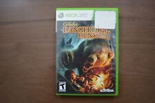 Cabela's Dangerous Hunts 2011 (Microsoft Xbox 360, 2010) No Manual