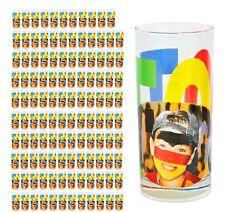 120er Set Wasserglas Face Tatoo Saftglas Wassergläser Saftgläser Glas Fussball