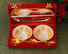 Brass Bowl Set of 5 Pcs.for wedding gift,Diwali,corporate and all other occasion