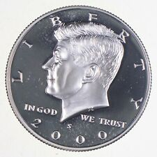 2000-S Gem Deep Cameo Proof Kennedy Half Dollar 90% Silver *685
