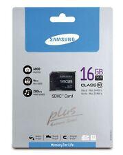 Samsung Memory Card 16GB SDHC Classe 10 SDHC 24/20 MB/s PLUS EXTREME SPEED