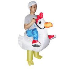 Chicken Fancy Dress Fan Inflatable Costume Suit