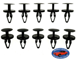 Fits Durango Ram Charger Fender Wheel Well Liner Push Retainer Clips 10pcs VR
