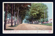 1904-08 view Main Street Lake George New York postcard