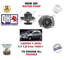 PARA LANCIA Y 840 1.1 1.2 A MOTOR 9042882 1999-2003 NUEVO QH BOMBA DE AGUA