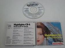 VARIOUS/HIGHLIGHTS CD 4(SANYO STEREOPLAY 697 002) CD ALBUM
