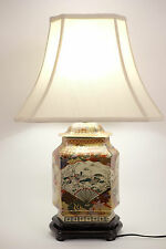 Lámpara De Mesa Lámparas Luces Luz De Techo Lámpara De Porcelana Asiática Oriental Chino