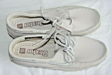 Dexter Navigator II Men's White Leather Handsewn Boat Comfort Shoe 8.5 2W P619-9