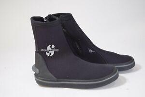 Scubapro Scuba Dive Boots with Side Zipper - Size 2XS / 5