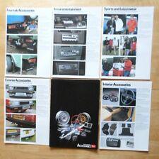 Daihatsu Range orig 1982 Uk Mkt 5 part brochure portfolio - Charade Charmant