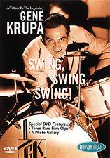 Tribute to Gene Krupa DRUMMER SWING Jazz DRUM DVD Play