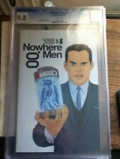 NOWHERE MEN #5 CGC 9.8 FIRST PRINT IMAGE COMICS