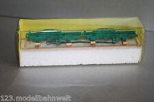 M-E-B 2x LKW Gestell auf Holzgestell für Rungenwagen 1:87 Spur H0 OVP