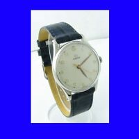 WW2 Steel Omega Non-Magnetic Military Wrist Watch 1943