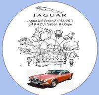 Jaguar XJ6 Series 2 1973-1979 3.4, 4.2 ltr Saloon,Coupe Factory Workshop Manual