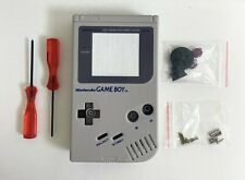 Replacement Housing for Original Nintendo GB Game Boy Shell Screen Gray DMG-01