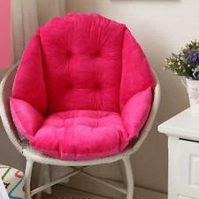 Home Chair Seat Cushion Shell All-Round Pillow Pad Seashell Shape-Rose Red