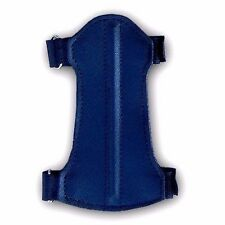 BLACK LEATHER ARCHERY ARM GUARD YOUTH