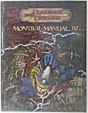 *Monster Manual IV Dungeons and Dragons