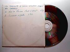 CD SINGLE B.O. FILM ▓ JOHN TRAVOLTA & OLIVIA NEWTON JOHN (SUMMER NIGHTS, GREASE)