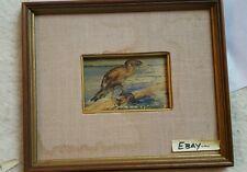 E A Burbank Original Oil Painting Listed California Artist Needs Restoration