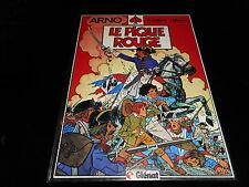 Juillard / Martin : Arno 1 : La pique rouge EO Glénat 1984