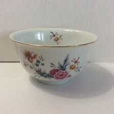 Avon American Heirloom Decorative Bowl Independence Day 1981 Dragonfly Flowers