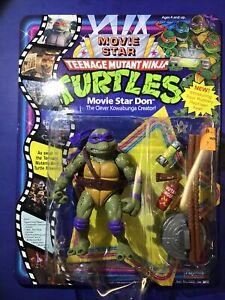 Teenage Mutant Ninja Turtles TMNT MOVIE STAR DON donatello 1991 vintage