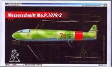 Unicraft Models 1/72 MESSERSCHMITT Me.P.1079/2 German Jet Fighter Project