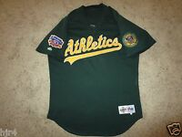 Miguel Tejada #4 Oakland Athletics A's 1997 Jackie Robinson Game Worn MLB Jersey