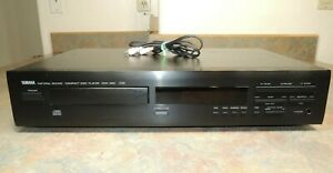 YAMAHA CDX-450 Natural Sound CD Player Compact Disc VTG WORKS AUDIO Cables CD450