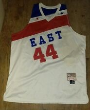"""VINTAGE 1978-79 NBA ALL-STAR """"ICE MAN"""" GEORGE GERVIN STITCHED JERSEY SIZE 56"""