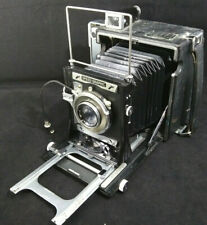 FOLMER GRAFLEX 4X5 SPEED GRAPHIC CAMERA No2 KODAK SUPERMATIC / EKTAR 127mm LENS