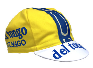 Del Tongo Colnago Vintage Professional Team Cycling Cap - Made in Italy by Apis