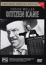 Citizen Kane - DVD Orson Welles (2xDVD Region 4)