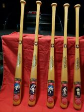 1991 COOPERSTOWN COMMEMORATIVE FIRST FIVE BAT PROOF SET