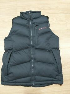 TIMBERLAND DOWN PUFFER MEN'S GILLET SIZE M VERY GOOD CONDITION