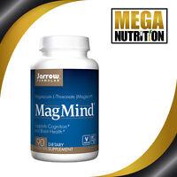 Jarrow Formulas MagMind 90 Veg Caps   Magnesium L-Threonate   Cognition & Brain