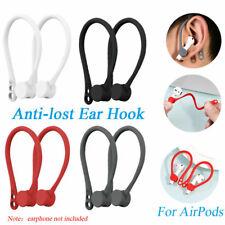 2 * Correa Portadora Pod Inalámbrico oreja ganchos para Apple AirPods Auriculares Auriculares Auriculares