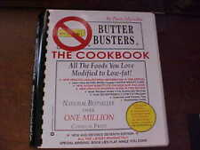 Butter Busters The Cookbook Low Fat by Pam Mycoskie Spiral Bound 472 Pages USA