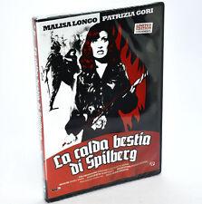 LA CALDA BESTIA DI SPILBERG DVD Malisa Longo tiratura limitata rimasterizzata