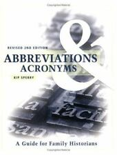 Abbreviations & Acronyms: Revised 2nd Edition (Paperback or Softback)
