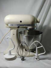 VINTAGE HOBART KITCHENAID K45SS IVORY 4.5 QT 10 SPEED TILT HEAD STAND MIXER