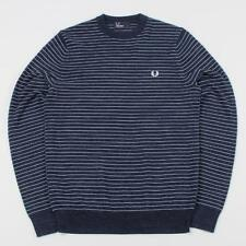 Fred Perry Crew Neck Striped Jumpers & Cardigans for Men