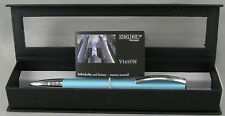 Online Germany Vision Turquoise & Chrome Ballpoint Pen -  Brand New In Box