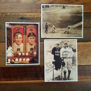 3 Prints Posters Baseball Pictures 11 x 14, Babe Ruth, Gehrig, Cobb & Mathewson